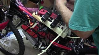 Charging Walmart Booster Electric Bike 48 Volts