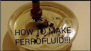 How To Make Ferrofluid (BEST VERSION)