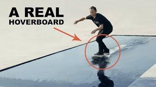 MUST WATCH: The First Ever REAL Hoverboard