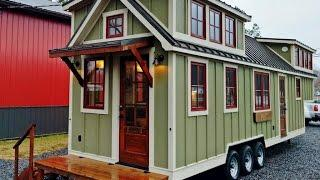 Luxurious Farmhouse Style Tiny House Is Beautiful