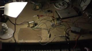 XEE2vids Joule Thief / Ringer - 3.5V / 400 mA - AC Power from AA's ! DC/AC Inverter - update