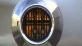 Looking down the throat of a German V-1 Pulse Jet Engine