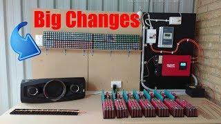 DIY Tesla Powerwall | Big Changes To The Setup! | Update 21