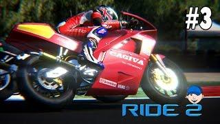 Ride 2 -  Career #3 Cagiva Mito 125 Going For Gold Franciacorta   Long Circuit