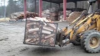 Mountain Firewood Kiln - Heat Treating Firewood - Bug Free