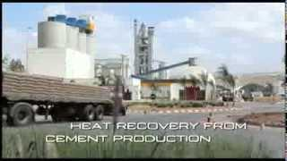 Turboden - Heat Recovery system with ORC technology for Ciments du Maroc (Italcementi) cement plant