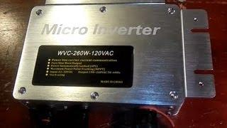 120VAC Micro Inverter Test