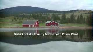 District of Lake Country Micro-Hydro Power Plant
