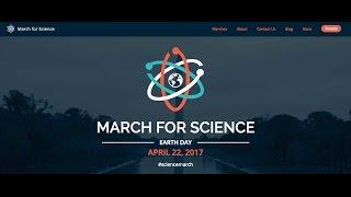 March for Science Press Conference  - 10, April 2017