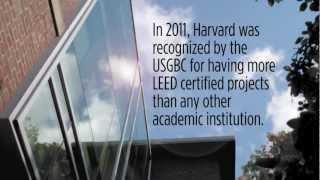 Green Building Services at Harvard University