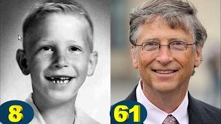 Bill Gates Transformation From 8 To 61 Years Old