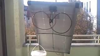 solar panel part 5  -  sun  tracker diy