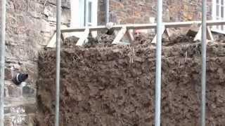 Cob Wall Cornwall www.cornellcob.co.uk How to Build a Cob Wall