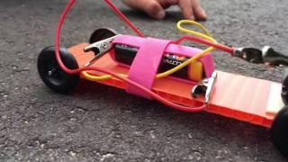 SuperCapacitor DIY Car - Energy Science For Kids