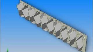 FuelFin Vortex Generator 360 degree view - animated - Peel, Stick, Save!