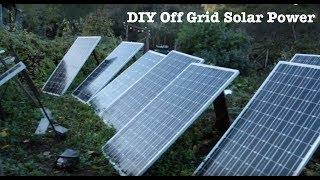 DIY Off Grid Solar Power System