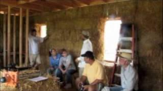 Straw Bale Construction Workshop at Turtle Rock Farm Part 1