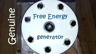 Free energy generator, really working free energy magnet motor