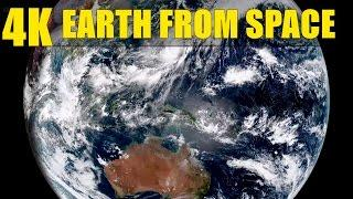 4K Video: Earth from space - Incredible video from the Himawari 8 Satellite