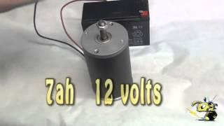 DC motor electric mini bike motor and project 1 hp / 3000 rpm