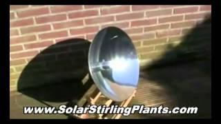 Solar Stirling Motor Generators - Slash Your Power Bill by 70% !