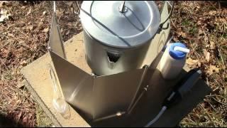Bushwacker stove coffee