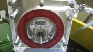 Tesla turbine. Test 2