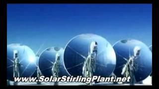 Solar Stirling Engine Generator is available to provide Free electricity