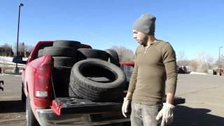 How to Gather Tires to Build an Earthship