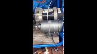 Induction Generator driven by elec. Motor