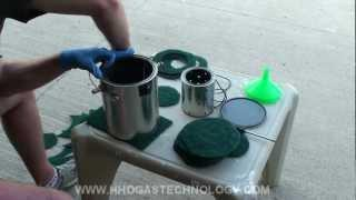 1 of 2 Gasoline Ultrasonic Vapor Carburetor Final Assembly