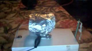 Tin foil ion thruster.wmv