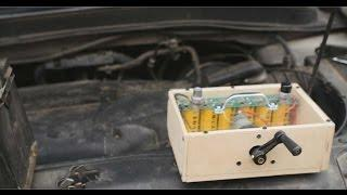 DIY Hand Crank Capacitor BoostBox Starts V6 - Hand Crank BoostPack