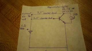 Joule thief simplest circuit