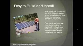 Solar Energy System DIY Renewable Green Energy