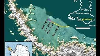 News and Events 2017 ANTARCTICA'S ICE IS MELTING FAST!