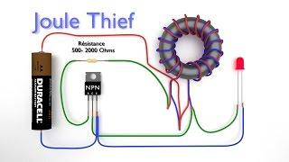 Joule Thief -- Comment fabriquer un Joule thief -- Convertisseur Boost