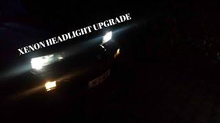 BMW E31 840CI EV Conversion 67 : Xenon Headlights 1