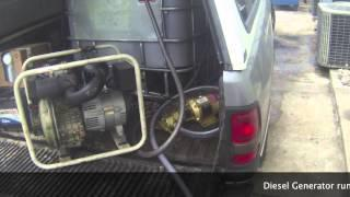 How to Pick up Free Fuel, Alternative Fuels WVO BioDiesel Transfer pump