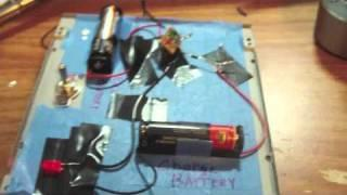 Simple Joule Thief Charger