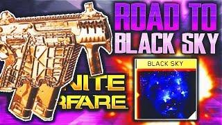 "ROAD TO ""BLACK SKY"" & ""SOLAR"" CAMOS INFINITE WARFARE! KARMA-45 GOLD GAMEPLAY (IW BLACK SKY UNLOCKED)"