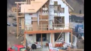 Net Zero Home Built With LOGIX ICF   Time Lapse Video