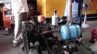 Multi-purpose engine conversion for jatropha oil in Cambodia