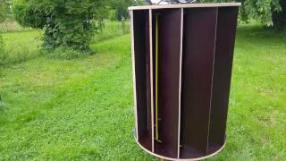 DIY - VAWT Wind Turbine