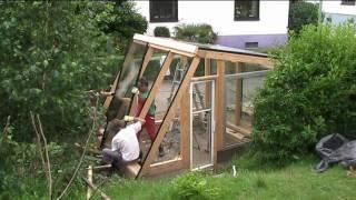 building a diy grand design greenhouse