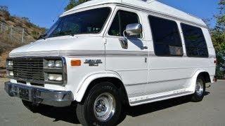 Chevrolet G20 Conversion van Solar mini RV 350 Explorer W/Bed SUV & High Top Camper