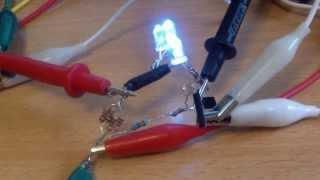 Do it yourself solar night light with joule thief and 1 AA battery