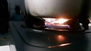 HHO Indonesia, Cooking Stove Attempt with Gen-6V1