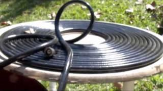 SOLAR HOT WATER with black garden hose Pondmaster 1200 gph SWIMMING POOL SOLAR