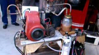Kohler Geet gas engine, really it's running, must SEE